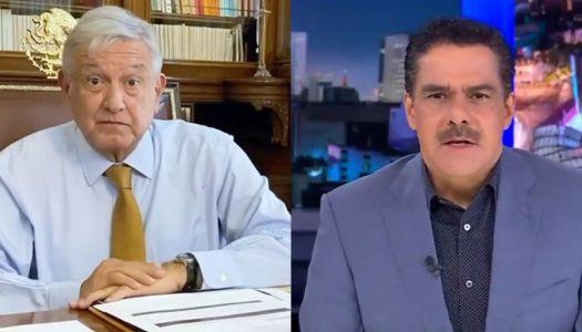 AMLO regaña a TV Azteca y Javier Alatorre; defiende a López-Gatell