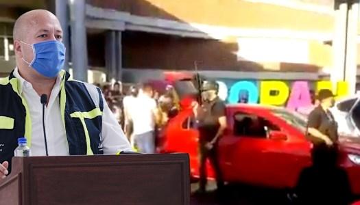 """Sicarios con """"cubrebocas"""" reparten despensas en el Jalisco de Alfaro"""