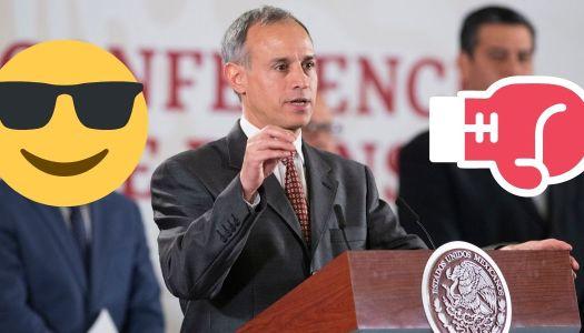 López-Gatell da cátedra y deja como ignorantes a varios gobernadores
