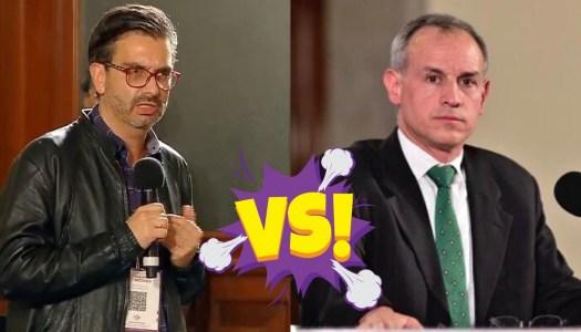 Reportero se mete en vida privada de López Gatell y él lo pone en su lugar