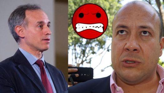 López-Gatell le envía saludos y Enrique Alfaro enfurece
