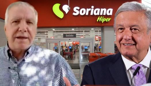 Soriana calla a El Universal mientras su ex accionista exige que AMLO renuncie