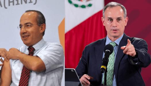 López-Gatell cuenta cómo Calderón presionó para que hubiera corrupción
