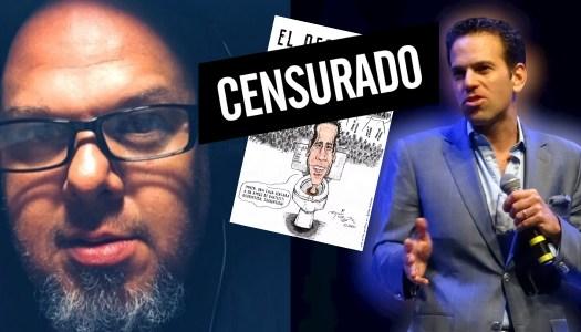 Despiden a monero por revelar censura de Carlos Loret de Mola