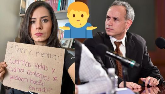 """Senadora pretende """"exhibir"""" a López-Gatell y hace mega ridículo"""