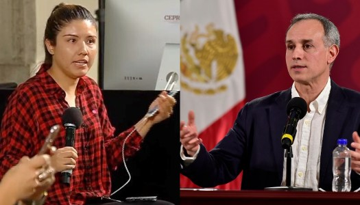 Reportera de Reforma le hace berrinche a López-Gatell