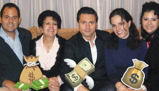 EPN dio contratos por 12 mil mdp a empresa familiar; AMLO lo investiga