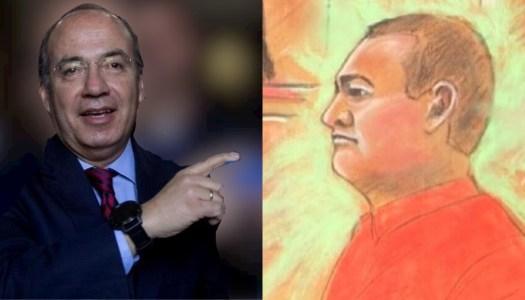 Calderón dice que puede dormir y el caso García Luna no le quita el sueño