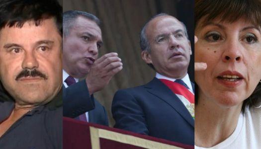 Calderón y García Luna impidieron publicación de libro sobre sus ligas con el narco