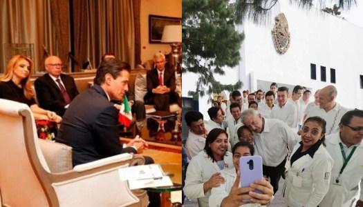 Los Pinos con AMLO: de lujosa residencia presidencial a albergue para médicos