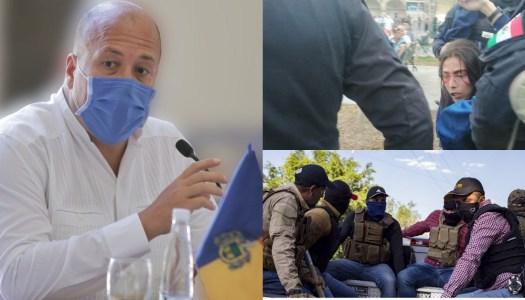 No seas cínico Alfaro, tú eres culpable de la represión en Jalisco