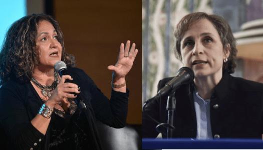 La campaña de Aristegui Noticias contra Sanjuana Martínez: 134 contenidos en 25 días