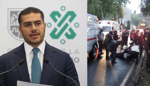 Sufre atentado el secretario de seguridad de la Ciudad de México