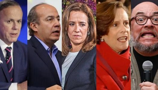 Ciro, Calderon, Margarita, Dresser, Brozo y otros antiAMLO niegan ser del BOA
