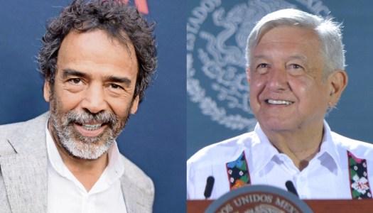 Damián Alcázar dice que AMLO es el mejor Presidente; él se lo agradece