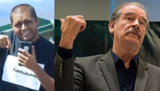 Vicente Fox cae aún más bajo: ahora alaba a Tumbaburross