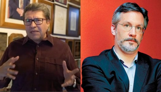 Monreal defiende su entrevista con Loret; Ackerman lo hace trizas