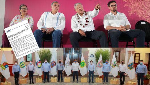 Gobernadores del PAN usan pandemia para lanzarse contra AMLO