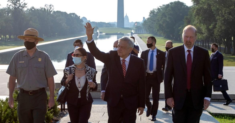 AMLO Washington 2 - Tras bambalinas, empresarios se desvivieron en elogios a AMLO en Washington #AMLO