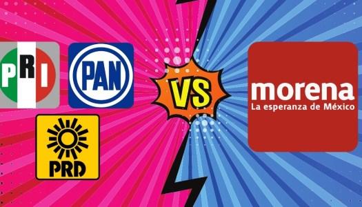 PAN busca aliarse con el PRI y el PRD para enfrentar a Morena en 2021