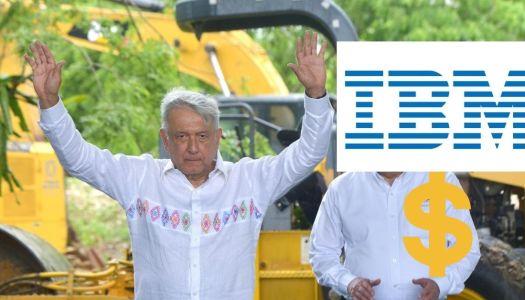 Exigencia de AMLO tuvo éxito: IBM ya pagó los 669 millones que debía