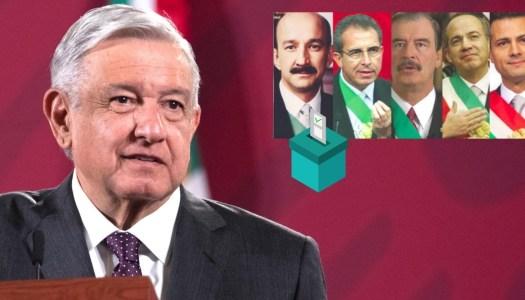 ¡Tiemblen ex Presidentes! AMLO podría hacer consulta para enjuiciarlos