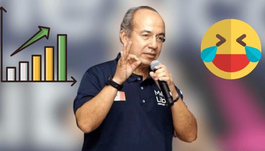 """Calderón dice que """"lo persiguen"""" porque México Libre es potencia electoral"""
