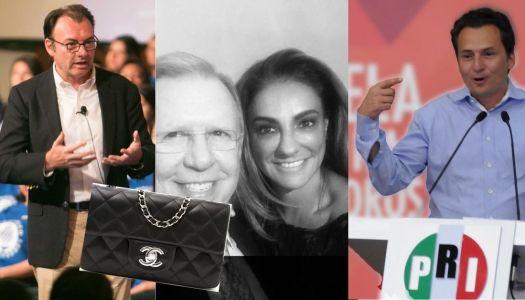 Con bolsas Chanel, así sobornaba Videgaray a periodista de El Financiero