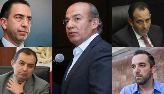 UIF investiga a los amigos íntimos de Calderón por ingresos inexplicables