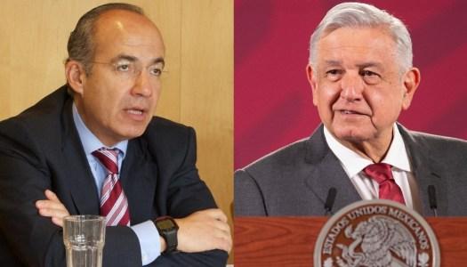 Calderón se pone bravucón y dice que AMLO le hará los mandados