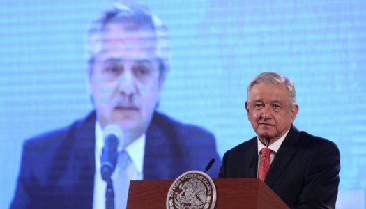 AMLO y Alberto Fernández doblan a los neoliberales