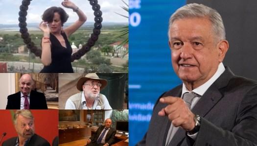 AMLO a 'intelectuales orgánicos': callaron cuando se saqueó al país