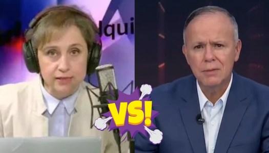 "Aristegui se lanza contra Ciro Gómez Leyva: ""se hundió en el fango"""