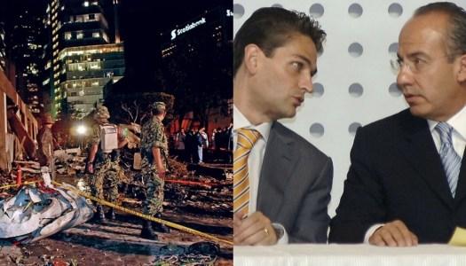 Avionazo de Mouriño; represalia del Cártel de Sinaloa a Calderón por incumplir acuerdos