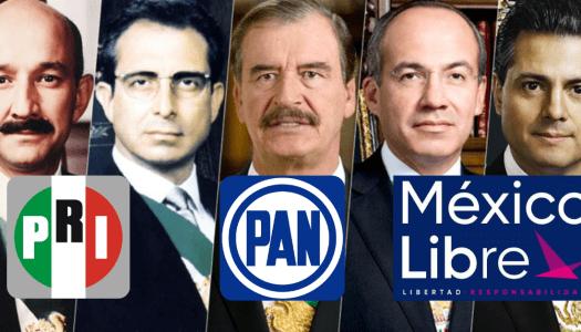 La consulta que hará desaparece al PRI, al PAN y a México Libre