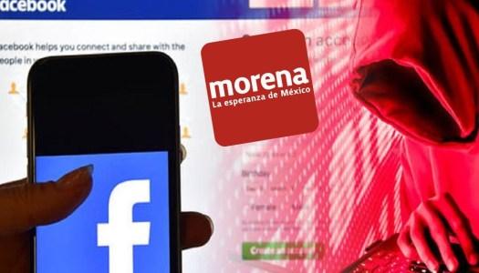 Facebook desmantela red de cuentas falsas que operaban contra Morena