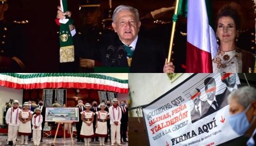 La rifa, el grito de AMLO y la alegría de vencer al silencio y la corrupción