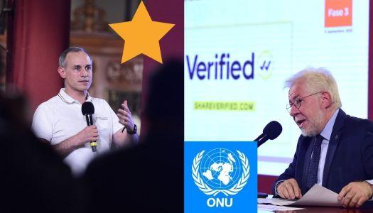Mientras la oposición lo ataca, la ONU reconoce labor de López-Gatell