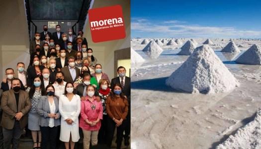 Morena busca nacionalizar el litio y protegerlo como recurso nacional