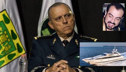 Cienfuegos, el general que hacía fiestas con narcos en yates de lujo