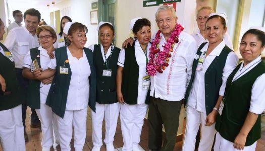 AMLO hacia el rescate del sistema de salud mexicano