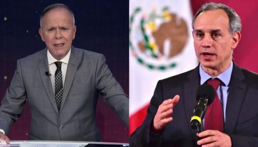 Ciro Gómez Leyva quiere a López-Gatell en la cárcel