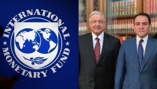 FMI elogia al gobierno de AMLO por sus políticas para enfrentar pandemia