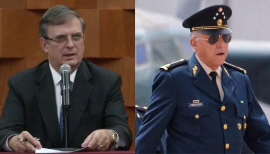 Cienfuegos no tendrá impunidad, promete Marcelo Ebrard