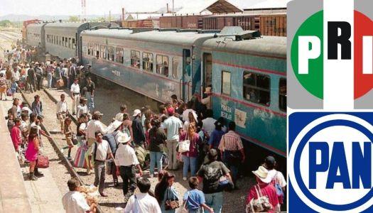 Pequeña crónica de cómo el PRIAN vendió los ferrocarriles