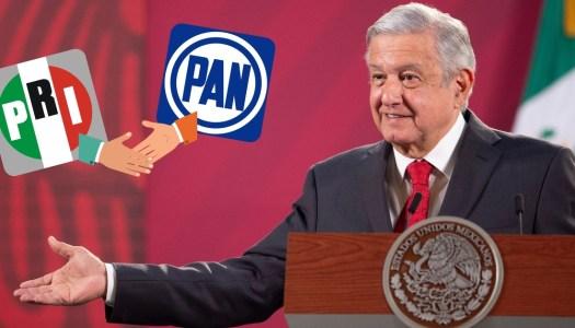 AMLO: el PRI y el PAN son lo mismo, antipopulares y entreguistas