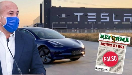 Mienten Alfaro y Reforma: Tesla nunca tuvo intención de invertir en Jalisco