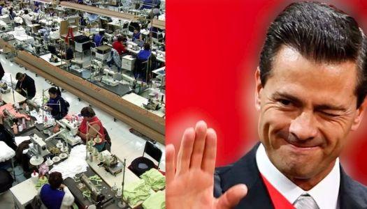 Peña Nieto les regaló 130 millones de pesos a empresas de outsourcing