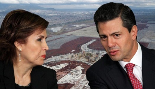 Rosario Robles y Peña Nieto desviaron 400 millones del extinto NAIM