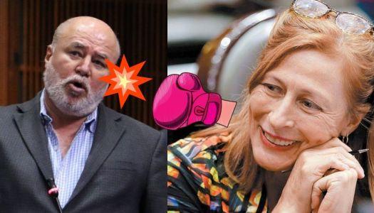 """Manuel Clouthier llama """"chaira"""" a su hermana Tatiana y en redes se lo acaban"""